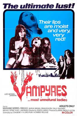 Vampyres - 11 x 17 Movie Poster - Style D