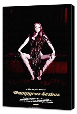 Vampyros Lesbos - 27 x 40 Movie Poster - Style A - Museum Wrapped Canvas