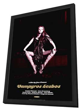 Vampyros Lesbos - 11 x 17 Movie Poster - Style A - in Deluxe Wood Frame