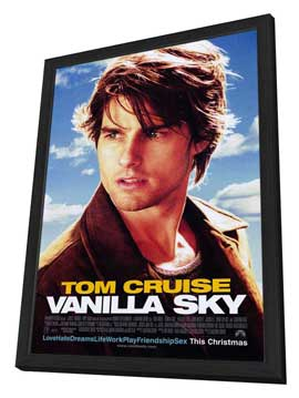 Vanilla Sky - 27 x 40 Movie Poster - Style A - in Deluxe Wood Frame