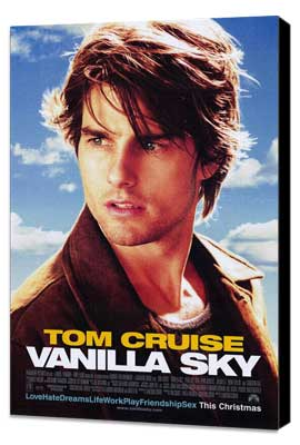 Vanilla Sky - 27 x 40 Movie Poster - Style A - Museum Wrapped Canvas