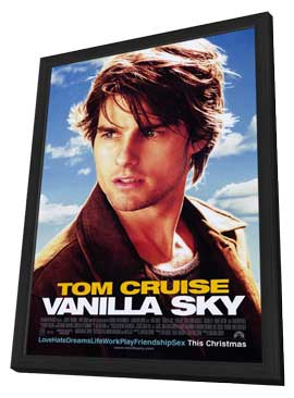 Vanilla Sky - 11 x 17 Movie Poster - Style A - in Deluxe Wood Frame