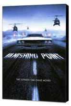 Vanishing Point - 11 x 17 Movie Poster - Style C - Museum Wrapped Canvas