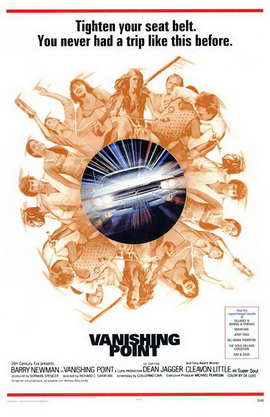 Vanishing Point - 11 x 17 Movie Poster - Style A
