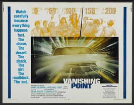 Vanishing Point - 22 x 28 Movie Poster - Half Sheet Style A