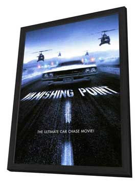 Vanishing Point - 11 x 17 Movie Poster - Style C - in Deluxe Wood Frame