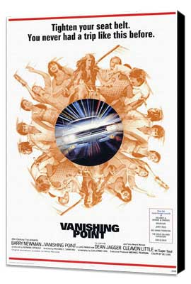Vanishing Point - 11 x 17 Movie Poster - Style A - Museum Wrapped Canvas