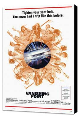 Vanishing Point - 27 x 40 Movie Poster - Style A - Museum Wrapped Canvas