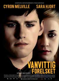 Vanvittig forelsket - 11 x 17 Movie Poster - Danish Style A