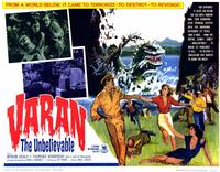 Varan the Unbelievable - 11 x 14 Movie Poster - Style A