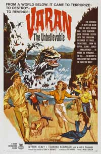 Varan the Unbelievable - 27 x 40 Movie Poster - Style B