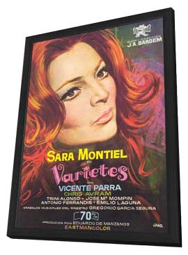 Varieties - 27 x 40 Movie Poster - Spanish Style A - in Deluxe Wood Frame