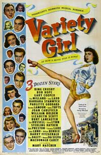 Variety Girl - 11 x 17 Movie Poster - Style A