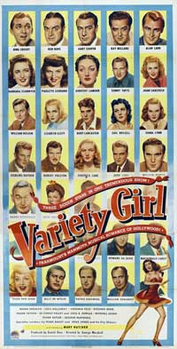 Variety Girl - 11 x 17 Movie Poster - Style B