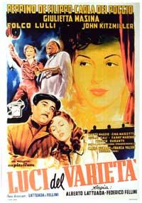 Variety Lights - 27 x 40 Movie Poster - Italian Style B