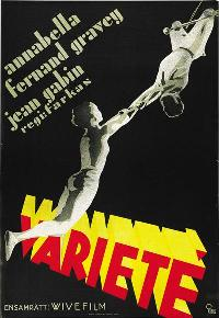 Vari�t�s - 27 x 40 Movie Poster - Swedish Style A