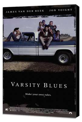 Varsity Blues - 27 x 40 Movie Poster - Style A - Museum Wrapped Canvas