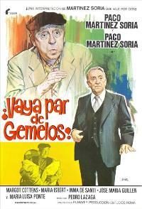 Vaya par de gemelos - 11 x 17 Movie Poster - Spanish Style A