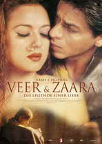 Veer-Zaara - 27 x 40 Movie Poster - German Style A