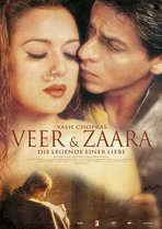 Veer-Zaara - 27 x 40 Movie Poster - German Style A
