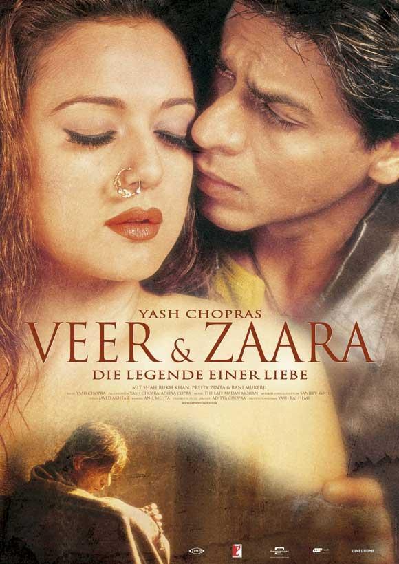 VEER  ZAARA (2.004) con SRK + Jukebox + Making of + Sub. Español Veer-zaara-movie-poster-2004-1020480365