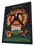 Vegas Vacation - 11 x 17 Movie Poster - Style A - in Deluxe Wood Frame