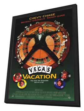 Vegas Vacation - 27 x 40 Movie Poster - Style A - in Deluxe Wood Frame