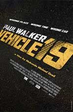 Vehicle 19 - 11 x 17 Movie Poster - Style A