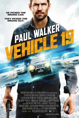 Vehicle 19 - 27 x 40 Movie Poster - Style B