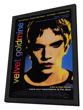 Velvet Goldmine - 11 x 17 Movie Poster - Style A - in Deluxe Wood Frame