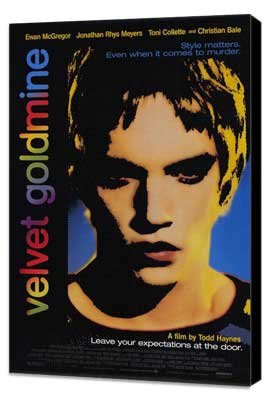 Velvet Goldmine - 27 x 40 Movie Poster - Style A - Museum Wrapped Canvas