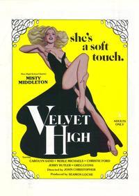 Velvet High - 11 x 17 Movie Poster - Style A