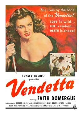 Vendetta - 11 x 17 Movie Poster - Style B