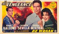 Vengeance - 27 x 40 Movie Poster - Belgian Style A
