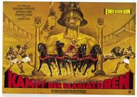 Vengeance of the Gladiator - 27 x 40 Movie Poster - German Style B