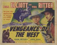 Vengeance of the West - 11 x 14 Movie Poster - Style A