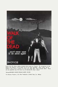 Vengeance of the Zombies - 11 x 17 Movie Poster - Style B