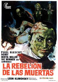 Vengeance of the Zombies - 11 x 17 Movie Poster - Spanish Style A