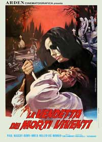 Vengeance of the Zombies - 11 x 17 Movie Poster - Italian Style A