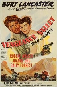 Vengeance Valley - 11 x 17 Movie Poster - Style A