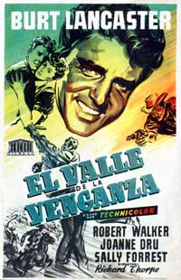 Vengeance Valley - 11 x 17 Movie Poster - Spanish Style A