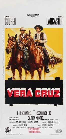 Vera Cruz - 11 x 17 Movie Poster - Italian Style A
