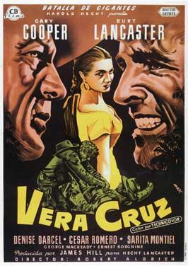 Vera Cruz - 11 x 17 Movie Poster - Spanish Style A