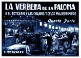 Verbena de la Paloma, La - 11 x 17 Movie Poster - Spanish Style C