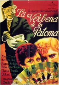 Verbena de la Paloma, La - 11 x 17 Movie Poster - Spanish Style B