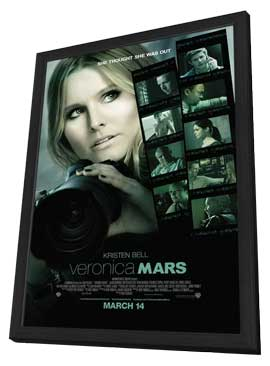 Veronica Mars - 11 x 17 Movie Poster - Style A - in Deluxe Wood Frame