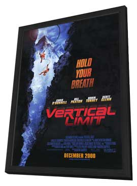 Vertical Limit - 27 x 40 Movie Poster - Style A - in Deluxe Wood Frame