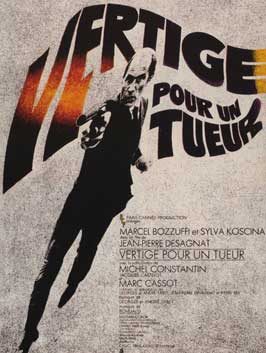 Vertigo for a Killer - 11 x 17 Movie Poster - French Style A
