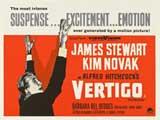 Vertigo - 30 x 40 Movie Poster - Style A
