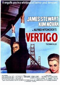 Vertigo - 11 x 17 Movie Poster - Style B